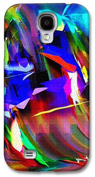 Abstract Digital Galaxy S4 Cases - Abstract 082713d Galaxy S4 Case by David Lane