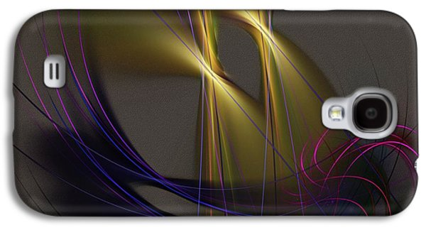 Abstract Digital Art Galaxy S4 Cases - Abstract 090613 Galaxy S4 Case by David Lane