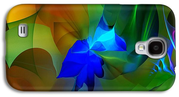 Abstract Digital Galaxy S4 Cases - Abstract 091213 Galaxy S4 Case by David Lane