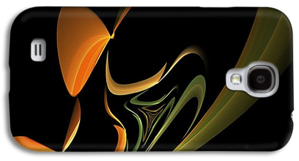 Abstract Digital Digital Art Galaxy S4 Cases - Abstract 092713 Galaxy S4 Case by David Lane