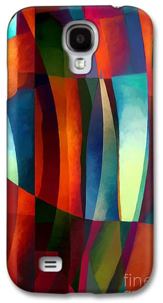 Abstract Digital Art Galaxy S4 Cases - Abstract #1 Galaxy S4 Case by Elena Nosyreva