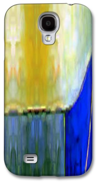 Shower Curtain Galaxy S4 Cases - Abstract 12 Galaxy S4 Case by Rafael Salazar