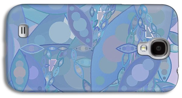 Cambridge Paintings Galaxy S4 Cases - Abstract 128 Galaxy S4 Case by Victor Gladkiy