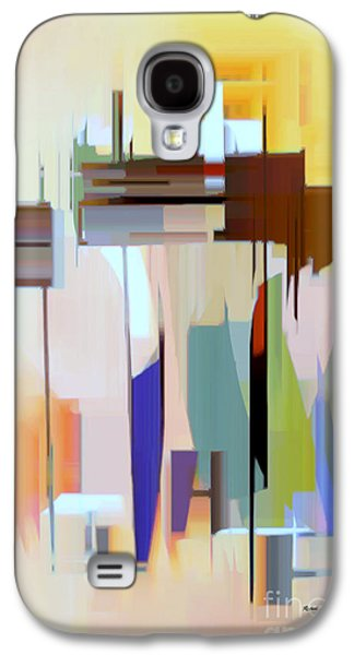 Shower Curtain Galaxy S4 Cases - Abstract 16 Galaxy S4 Case by Rafael Salazar