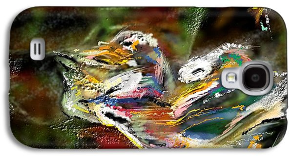Abstract Digital Paintings Galaxy S4 Cases - Abstract 2 Galaxy S4 Case by Francoise Dugourd-Caput