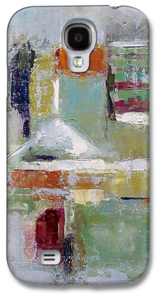 Becky Kim Paintings Galaxy S4 Cases - Abstract 2015 02 Galaxy S4 Case by Becky Kim