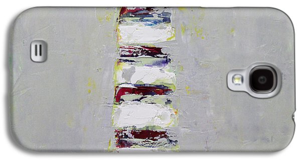 Becky Kim Paintings Galaxy S4 Cases - Abstract 2015 03 Galaxy S4 Case by Becky Kim