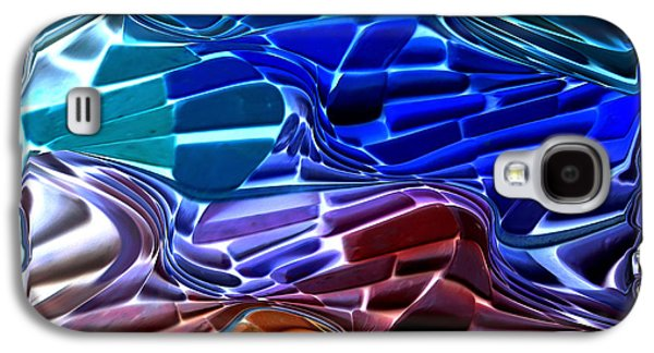 Abstract Digital Galaxy S4 Cases - Abstract 215 2 Galaxy S4 Case by Kae Cheatham