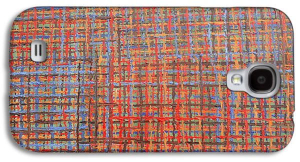 Ipad Design Galaxy S4 Cases - Abstract 456 Galaxy S4 Case by Patrick J Murphy