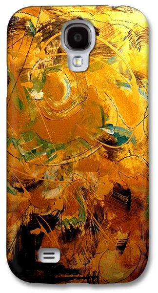 Etc. Paintings Galaxy S4 Cases - Abstract #8 Galaxy S4 Case by Patrick Raffaelo