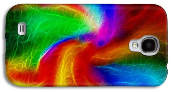 Morphing Galaxy S4 Cases - Abstract - Amorphous 1 - Fractal Galaxy S4 Case by Steve Ohlsen