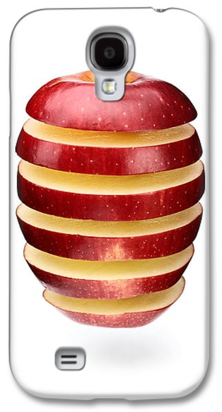 Concept Photographs Galaxy S4 Cases - Abstract apple slices Galaxy S4 Case by Johan Swanepoel