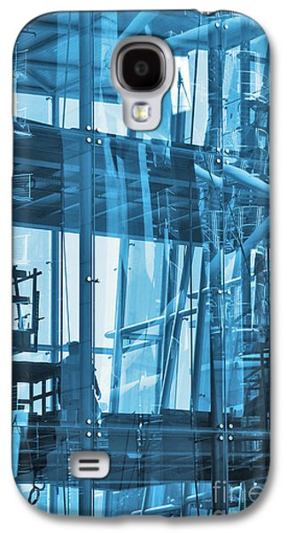 Interior Scene Photographs Galaxy S4 Cases - Abstract Architecture Galaxy S4 Case by Carlos Caetano
