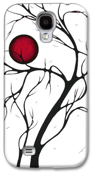 Stunning Galaxy S4 Cases - Abstract Art Original Huge Landscape Painting TOGETHER AS ONE by MADART Galaxy S4 Case by Megan Duncanson