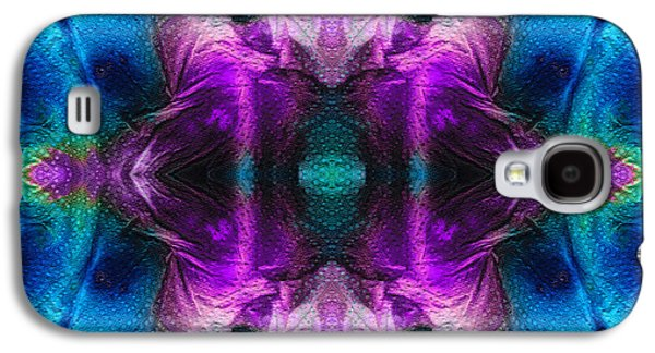 Mystic Paintings Galaxy S4 Cases - Abstract Art - Stargazer - By Sharon Cummings Galaxy S4 Case by Sharon Cummings