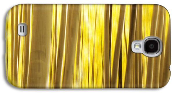 White River Galaxy S4 Cases - Abstract Aspens Galaxy S4 Case by Juli Scalzi