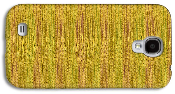 Modern Abstract Tapestries - Textiles Galaxy S4 Cases - Abstract autumn forest Galaxy S4 Case by Lali Kacharava