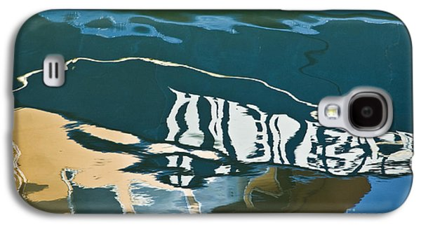Gordon Photographs Galaxy S4 Cases - Abstract Boat Reflection Galaxy S4 Case by Dave Gordon