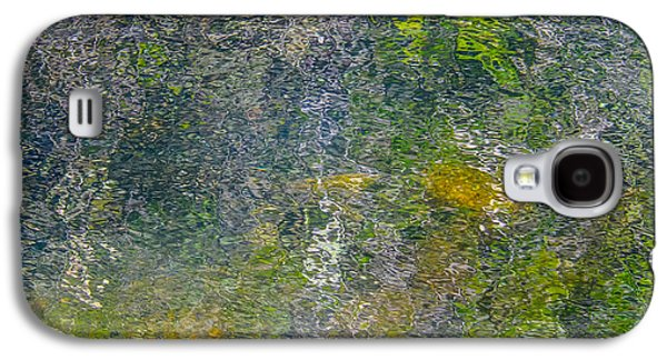 Trees Reflecting In Creek Galaxy S4 Cases - Abstract By Nature Galaxy S4 Case by Roxy Hurtubise