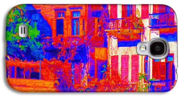 Abstract Digital Paintings Galaxy S4 Cases - Abstract Chania Galaxy S4 Case by Antony McAulay