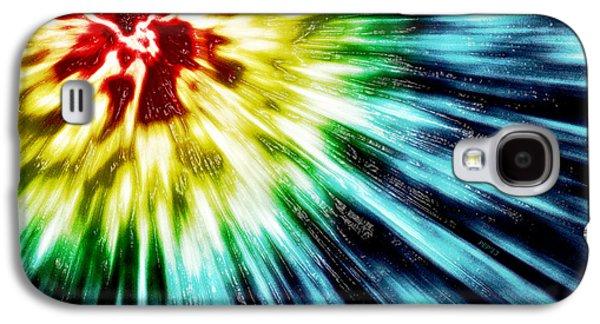 Recently Sold -  - Abstract Digital Digital Art Galaxy S4 Cases - Abstract Dark Tie Dye Galaxy S4 Case by Phil Perkins