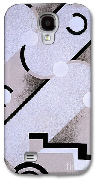 Bold Style Galaxy S4 Cases - Abstract design from Nouvelles Compositions Decoratives Galaxy S4 Case by Serge Gladky