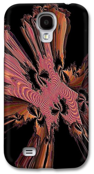 Abstract Digital Art Galaxy S4 Cases - Abstract Explosion Galaxy S4 Case by Jeff  Swan
