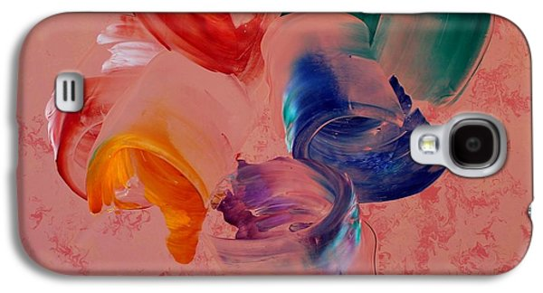 Abstracts Sculptures Galaxy S4 Cases - Abstract Expressionism Galaxy S4 Case by Sahib Nazar