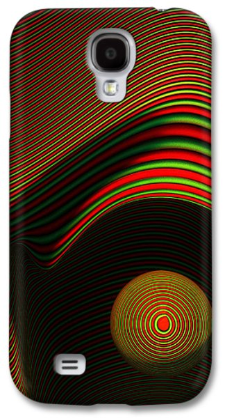 Face Digital Galaxy S4 Cases - Abstract eye Galaxy S4 Case by Johan Swanepoel