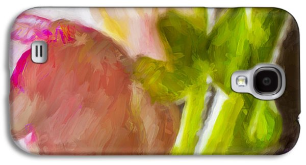 Nature Abstracts Galaxy S4 Cases - Abstract Fantasy - Painting Galaxy S4 Case by F Leblanc