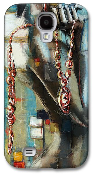 Abstract Expression Galaxy S4 Cases - Abstract figure work Galaxy S4 Case by Catf