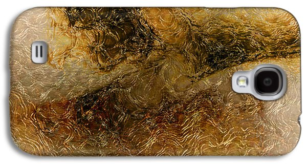 Abstract Forms Galaxy S4 Cases - Abstract Flow Galaxy S4 Case by James Barnes