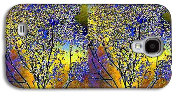 Abstract Fusion 100 Galaxy S4 Case by Will Borden