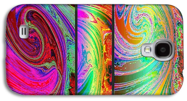 Abstract Fusion 184 Galaxy S4 Case by Will Borden