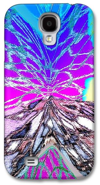 Abstract Digital Digital Galaxy S4 Cases - Abstract Fusion 196 Galaxy S4 Case by Will Borden