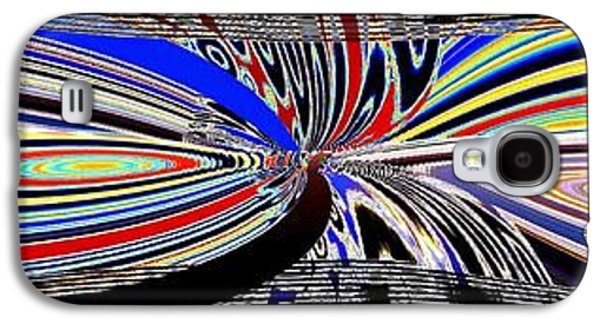 Abstract Fusion 197 Galaxy S4 Case by Will Borden