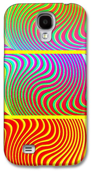 Abstract Fusion Galaxy S4 Cases - Abstract Fusion 205 Galaxy S4 Case by Will Borden