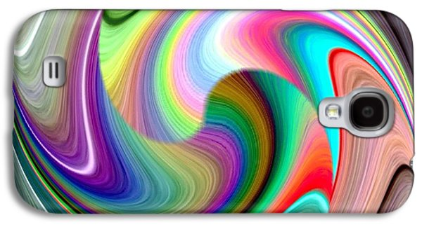 Abstract Fusion 241 Galaxy S4 Case by Will Borden