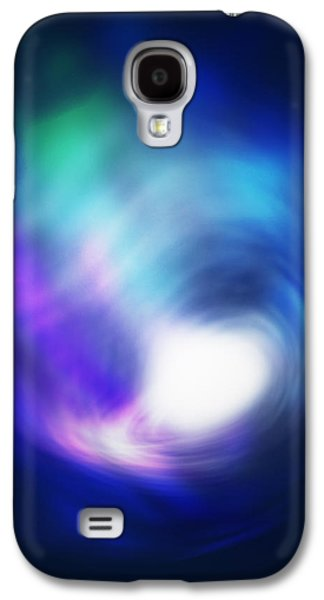 Orbit Galaxy S4 Cases - Abstract Galaxy Galaxy S4 Case by Atiketta Sangasaeng