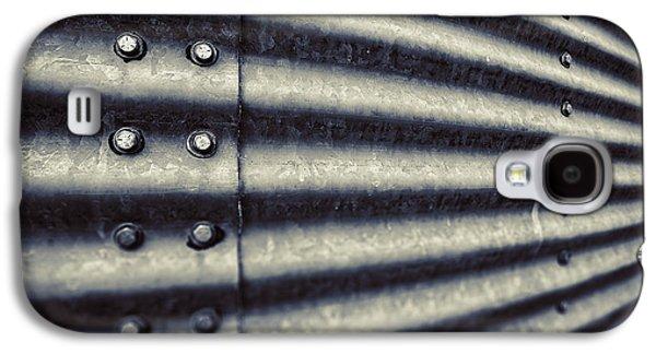 Silos Galaxy S4 Cases - Abstract Grain Silo Galaxy S4 Case by Thomas Zimmerman