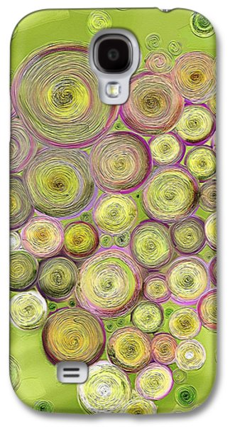 Abstract Grapes Galaxy S4 Case by Veronica Minozzi