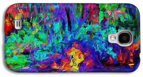 Abstract Digital Galaxy S4 Cases - Abstract Landscape Galaxy S4 Case by David Lane