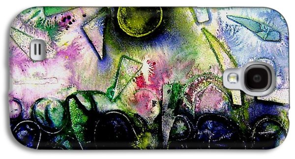 Abstract Landscape Galaxy S4 Cases - Abstract Landscape II Galaxy S4 Case by John  Nolan