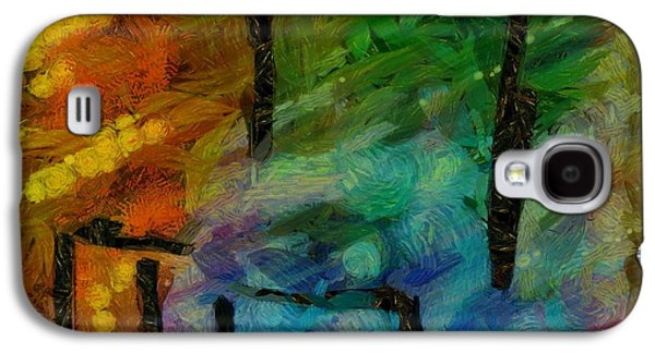 Line Photographs Galaxy S4 Cases - Abstract Lines 11 Galaxy S4 Case by Edward Fielding