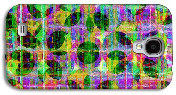 Line Photographs Galaxy S4 Cases - Abstract Lines 17 Galaxy S4 Case by Edward Fielding