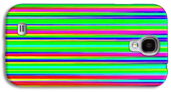 Line Photographs Galaxy S4 Cases - Abstract Lines 3 Galaxy S4 Case by Edward Fielding