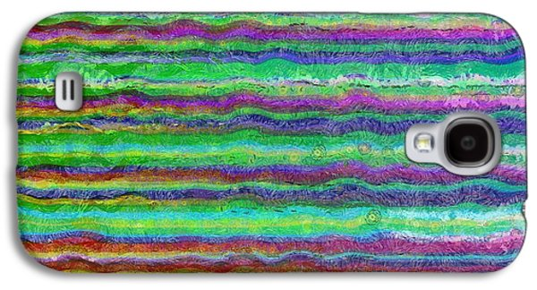 Line Photographs Galaxy S4 Cases - Abstract Lines 5 Galaxy S4 Case by Edward Fielding