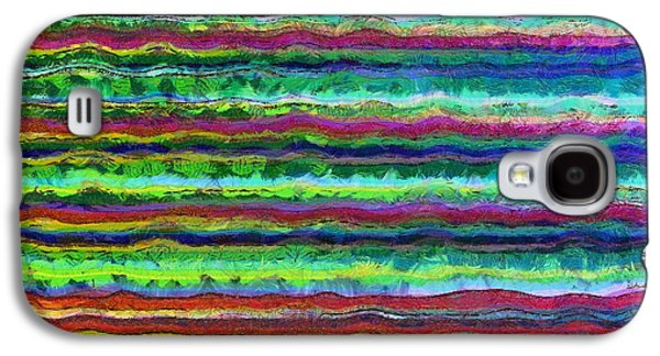 Line Photographs Galaxy S4 Cases - Abstract Lines 6 Galaxy S4 Case by Edward Fielding