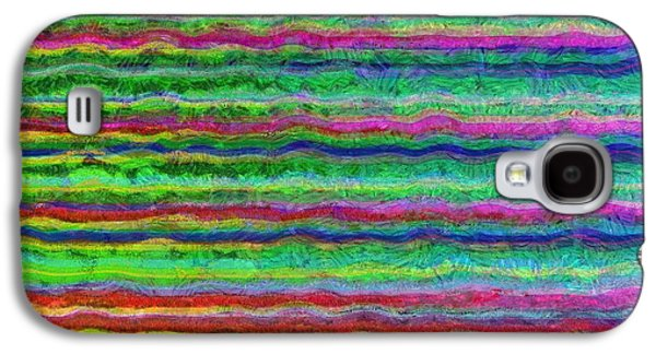 Line Photographs Galaxy S4 Cases - Abstract Lines 7 Galaxy S4 Case by Edward Fielding