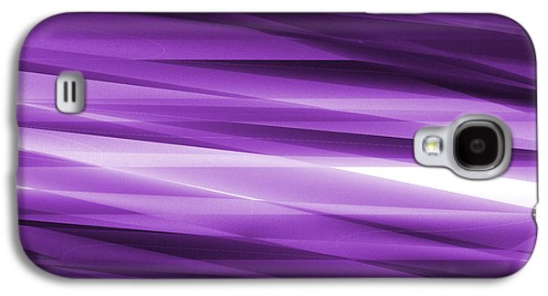 Concept Tapestries - Textiles Galaxy S4 Cases - Abstract modern purple  background Galaxy S4 Case by Somkiet Chanumporn